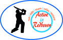 Active in Redbourn Cricket logo