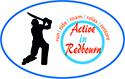 Active in Redbourn Cricket logo