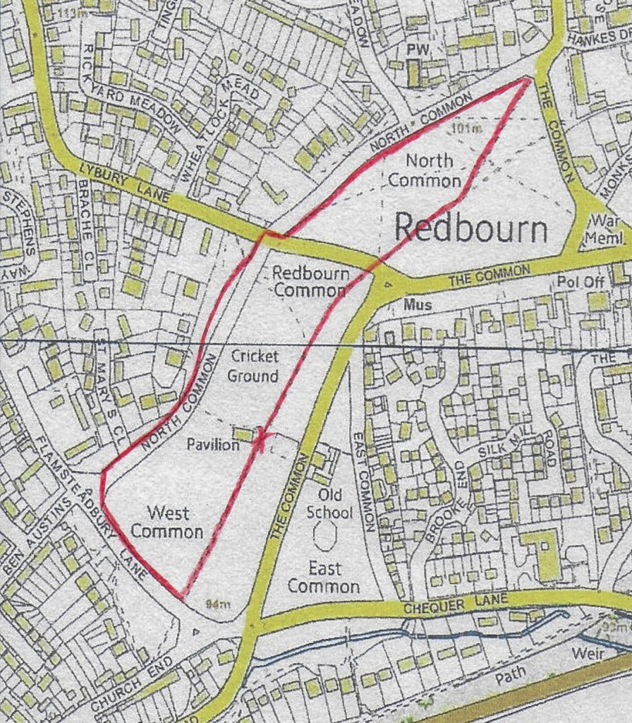Active in Redbourn the Redbourn Mile course around The RedbournCommon