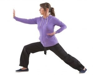 Active in Redbourn Tai Chi woman
